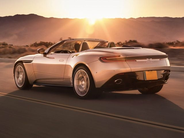 2019 Aston Martin Db11 Volante Naples Fl